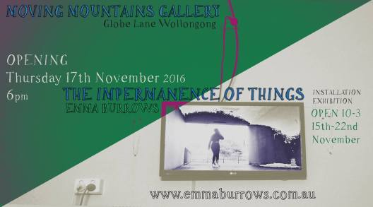 Emma Burrows - The Impermanence of Things